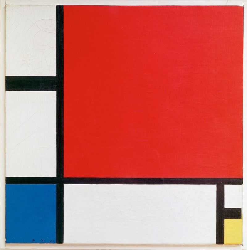 piet mondriaan  1930   mondrian composition ii in red  blue  and yellow
